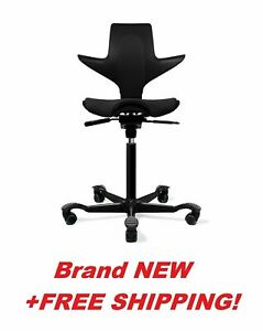 Hag Capisco Puls Ergonomic Office Chair Full With Pneumatic Lift Free Shipping
