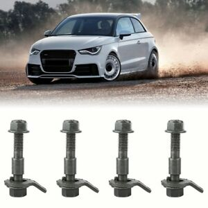 5pcs 12mm Vehicle Tire Four Wheel Alignment Adjustable Camber Cam Bolt Tool Kit