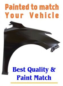 New Pre Painted Passenger Rh Fender For 2016 2019 Chevy Cruze W Free Touchup