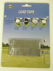 On Course Lead Tape Swing Weight Alteration 48