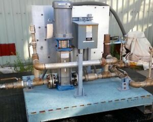 7 5hp Goulds Pump System Ssv Vertical Multistage Centrifugal Pump Stainless Ste