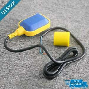 2m Cable Float Switch Liquid Fluid Water Level Controller Sensor For Tank Pump