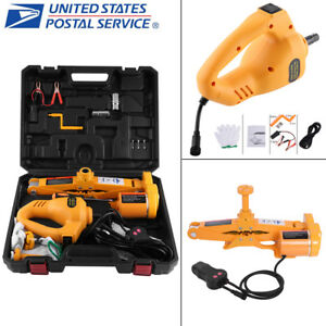 3ton 12v Dc Car Electric Lifting Jack With Controller Suv Emergency Equipment