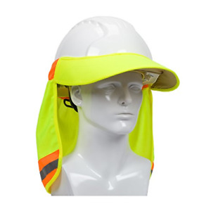 Hard Hat With Sun Shade Visor Neck Shield Protector For Construction Accessories