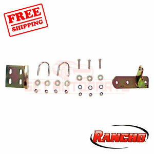 Rancho Steering Stabilizer Bracket For 1980 96 Ford F 150