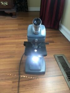 Bausch Lomb 10x 43x 97x Stereozoom Microscope With Lens And Stand 10x W f Lab