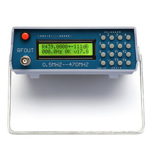 0 5 470mhz Rf Signal Generator Frequency Meter For Fm Radio Walkie talkie Debug