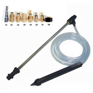 Pressure Washers Sand Blaster Blasting Kit Powers Nozzle Rubber Tool Accessories