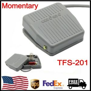 Tfs 201 Momentary Contact Ac 250v 10a Nonslip Surface Foot Pedal Switch Us Ship