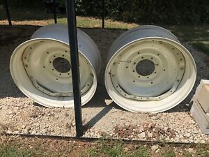 Lot Of Two Tractor Rims 15x34 New Holland W15 New And Never Used Or Mounted Pair