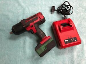 Snap On 18v Cordless Monster Lithium 1 2 Impact Gun Wrench Ct7850 W Charger