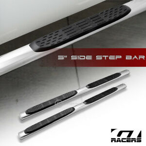 For 2010 2013 Dodge Ram 2500 3500 Crew Cab 5 Oval Chrome Side Step Bars Boards