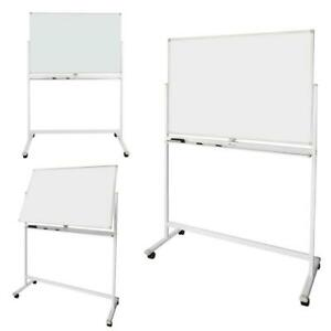 Double Sided 48 x24 Magnetic Whiteboard Office Dry Drawing Writing Erase Board