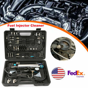 Fuel Injector Cleaner Tester Non Dismantle Fuel System Petrol Car 120psi 600ml