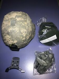 Army ACH Advanced Combat Helmet Level IIIA New Mount Chin Strap