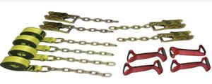 Ba Products 38 200c 8 Pt Rollback Tiedown Flatbed Tow Truck ratchets usa Chains