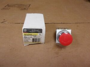 Ge Cr104ptr20a0r91 Red Cap Pushbutton Switch