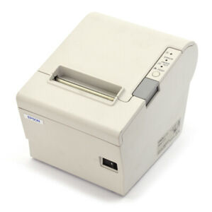 Epson Tm t88iv M244a Usb Thermal Receipt Printer W Ps 180 Supply Cables
