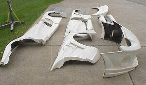 Supra Mk Iv Fiberglass Wide Body Kit 16 Pieces 93 98 Toyota New Old Stock Nos