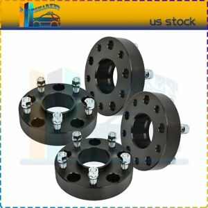 4x 5x5 5 1 5 Thick Black Wheel Spacers 9 16 Studs For Ram 1500 Dodge Ram 1500