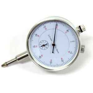 2 3 8 Aluminum Dial Gauge Indicator 0 01mm Graduation 0 100 Reading Lug Back
