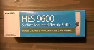 Assa Abloy Hes 9600 12 24 530 9600 Series Surface Mount Electric Strike