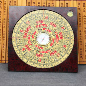 Chinese Plastic Handicrafts Seventeen Layer Ternary Fengshui Compass