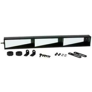 3 panel Racing Wide Angle Rear View Mirror 20 Inches Wide