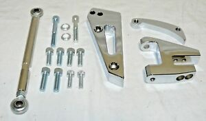 Big Block Chevy Short Water Pump Alternator Bracket Kit Bbc Swp Polished