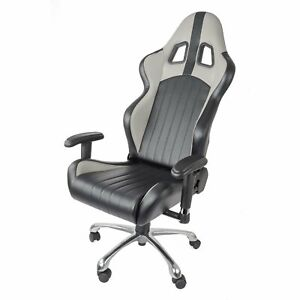 Jegs 702150 High Back Gaming Racing Sport Office Chair