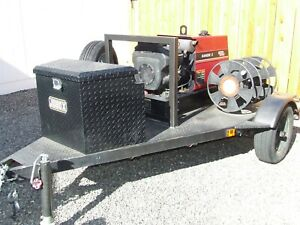 Lincoln 1994 Ranger 8 Welder Mounted On A Trailer With Only 94 7 Hours