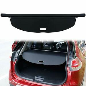 Black Trunk Cargo Cover Sheld Shade For Nissan Rogue Sv X trail T32 2014 2015
