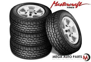 4 Mastercraft Courser Axt 32 11 50r15lt Owl C 6 All Terrain Performance Tires