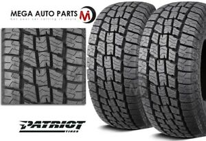 2 Patriot At Lt265 75r16 10p 123 120s All terrain On off road Truck Suv A t Tire