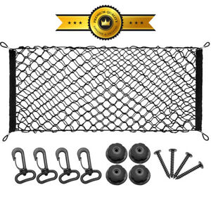 Rear Cargo Net Bungee Netting Carrier Trunk Storage Organizer Net For Car Suv