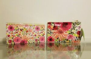 Kate Spade Dahlia Pencil Pouch Accessories Included Spiral Notepad Set New