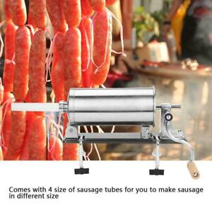 6lb 3 6l Sausage Stuffer Maker Meat Filler Machine Stainless Steel Commercial Us
