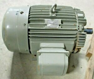 Teco westinghouse 3 phase Induction Motor 40hp 230 Or 460v 3550 Rpm Used