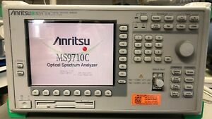 Anritsu Ms9710c Optical Spectrum Analyzer With Calibration