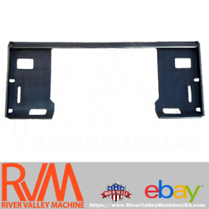 Rvm Universal Quick attach Adapter Plate For Skid steer Loaders