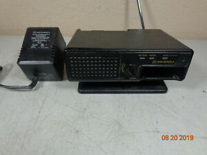 Motorola Minitor Iii Iv Vhf Fire Ems Pager Charger Nyn8348b W Power Supply C3