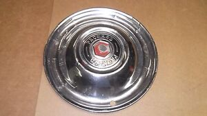 1946 49 Packard Super 8 Hub Cap 15 Hubcap Wheel Cover Stainless Oem