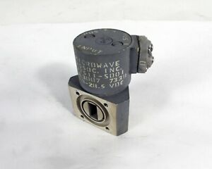 Microwave Associates Ma7511 s001 Rf Waveguide Switch Wr 62 12 4 18 Ghz
