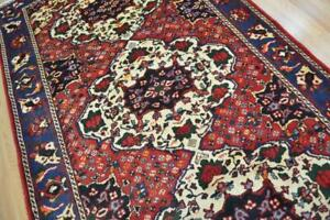 5 5 X 10 Genuine S Antique Persian Tribal Bakhtiari Hand Knotted Wool Area Rug
