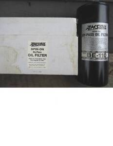 Amsoil Be 110 Spin On Bypass Oil Filter New In Box