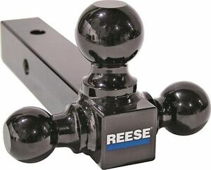 New Reese Towpower 21512 Trailer Hitch Tri Ball Black 8 3 In 1 Sale 4540399