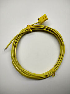 K type Thermocouple Extension Cable Wire With Miniature Mini Connector F 10 Ft