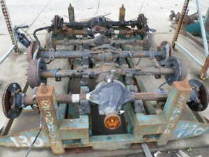 03 04 05 Ford Explorer Sport Trac Rear Axle Assembly 4 10 Ratio 111k Oem