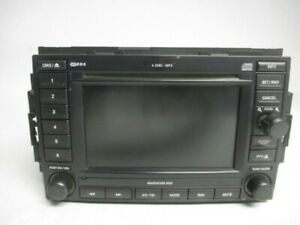 05 06 07 Chrysler 300 Navigation Radio Receiver Dvd Cd Display Rec Oem Lkq