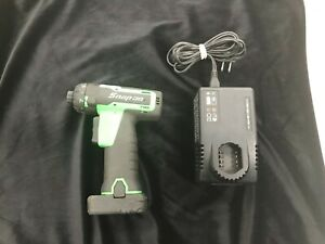 Snap On 14 4v Nicro Lithium Cordless Screwdriver 1 4 Cts761ag